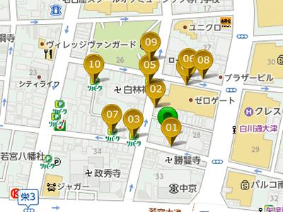 パーキングマップ